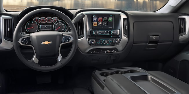 2019 Silverado HD Heavy Duty Truck Interior Photo: dashboard.