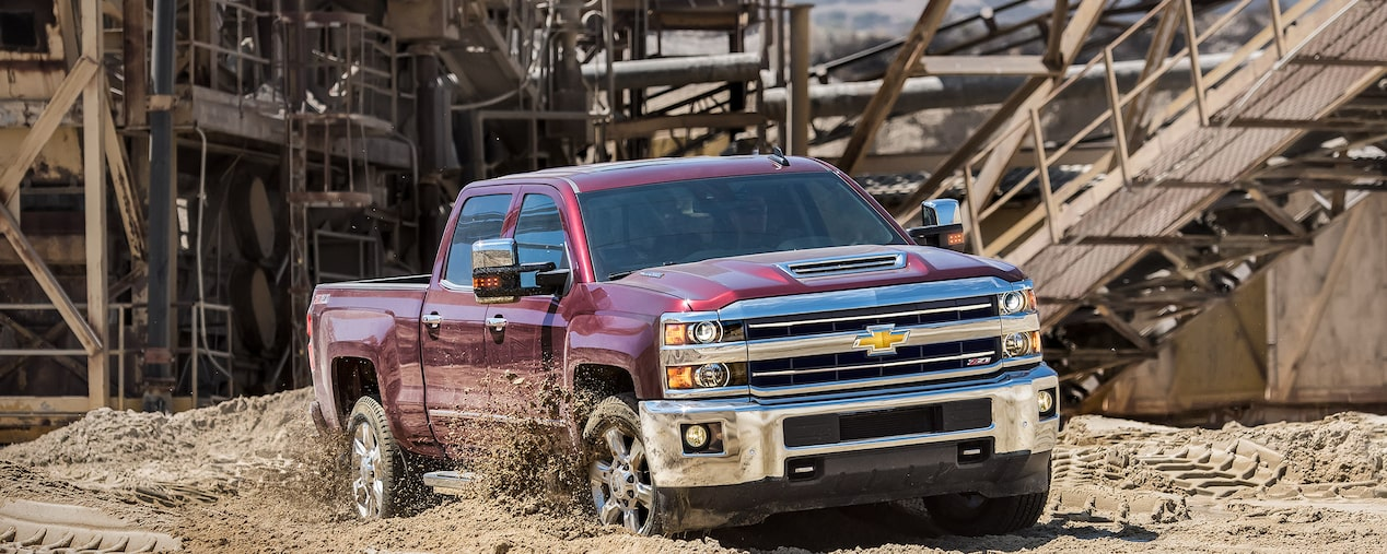 2019 Chevrolet Silverado HD heavy-duty work truck.