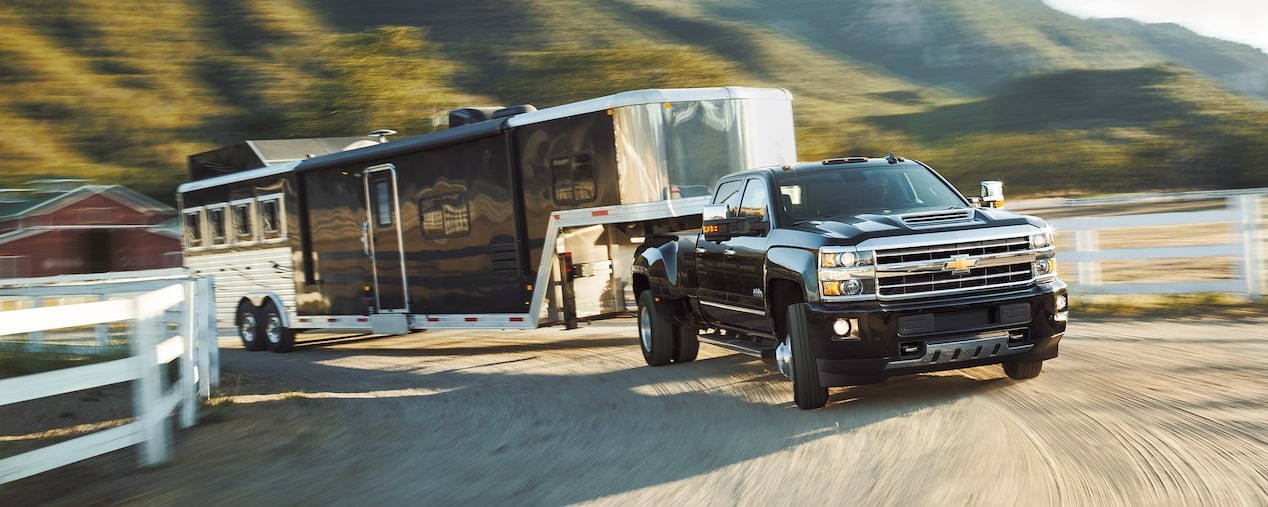 The 2019 Chevrolet Silverado HD offers the performance needed to deliver control and capability.