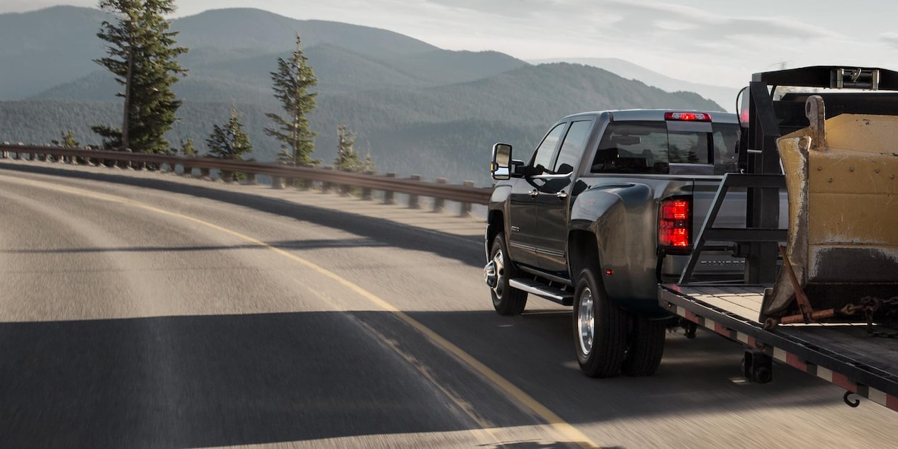 2019 Silverado HD Heavy Duty Truck Performance: trailering/towing