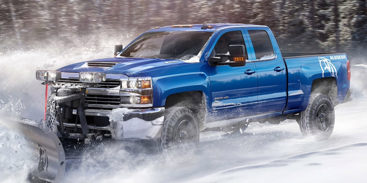 2019 Silverado HD Heavy Duty Truck: Alaskan Snow Plow Special Edition.