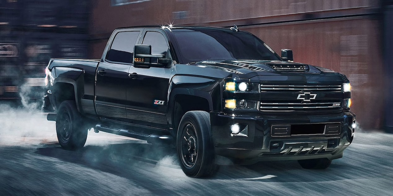 2019 Silverado HD Heavy Duty Truck: Midnight Edition.