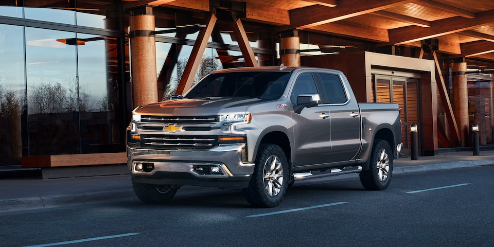 2020 Chevrolet Silverado 1500 Pickup Truck High-Intensity Discharge (HID) LED Headlamps.