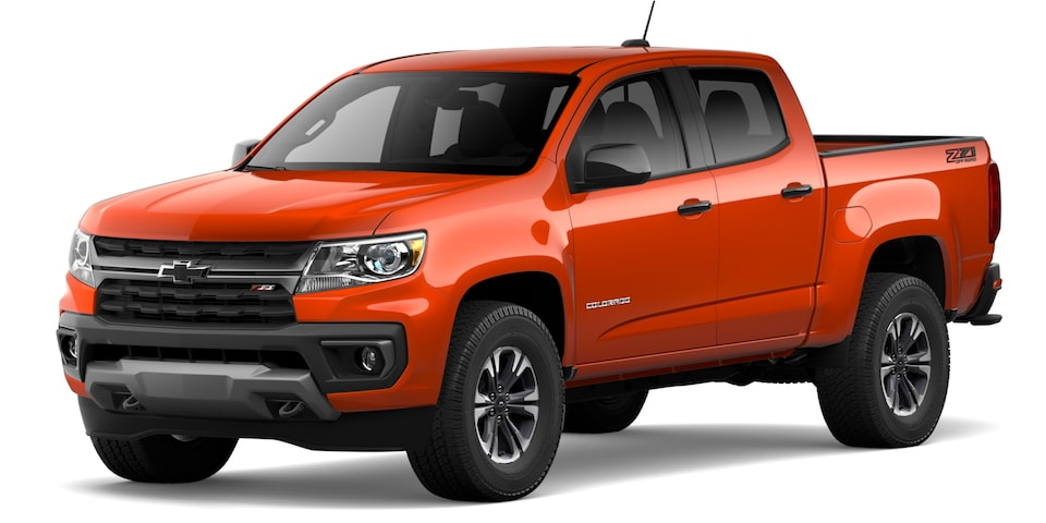 Chevrolet Colorado 2021 en Crush.