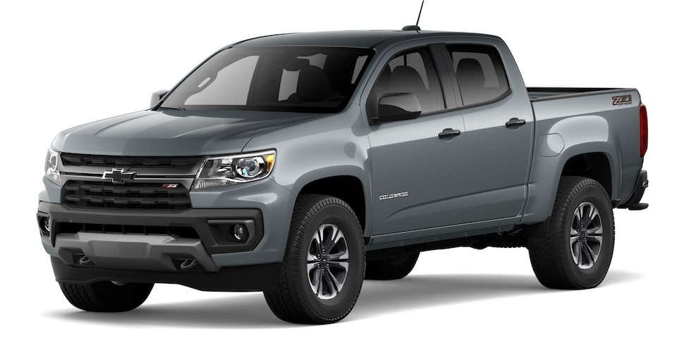 2021 Chevrolet Colorado in Satin Steel Metallic