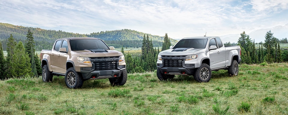 2021 Chevrolet Colorado ZR2 Wide Angle View.