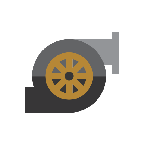 Turbo Engine Icon.