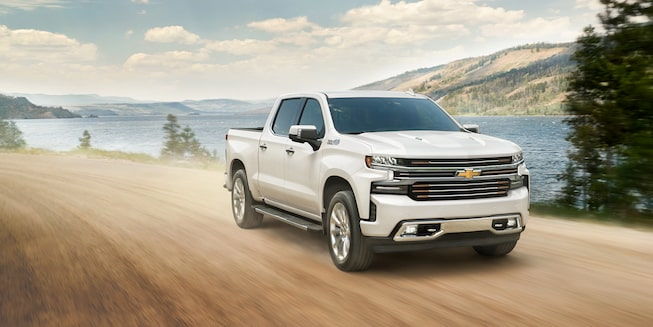 2021 Silverado Pickup Truck Exterior Off Road View.