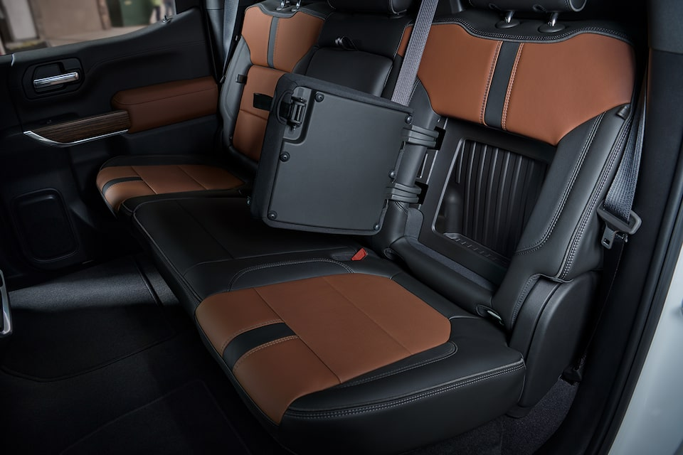 2021 Silverado 1500 Pickup Truck Interior Features: Rear-Seat Storage.