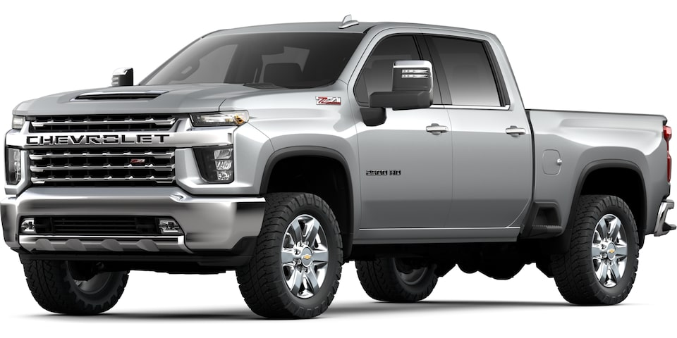 2021 Chevrolet Silverado 2500HD heavy-duty work truck.