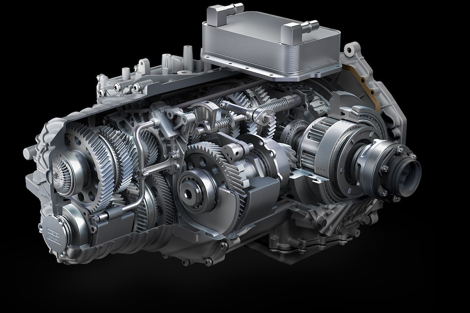 Dual Clutch Transmission Of The 2020 Corvette.