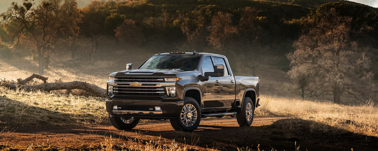 The all-new 2020 Chevrolet Silverado HD.