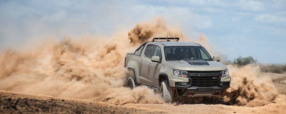 2021 Chevrolet Colorado Mid-Size Pickup Truck.