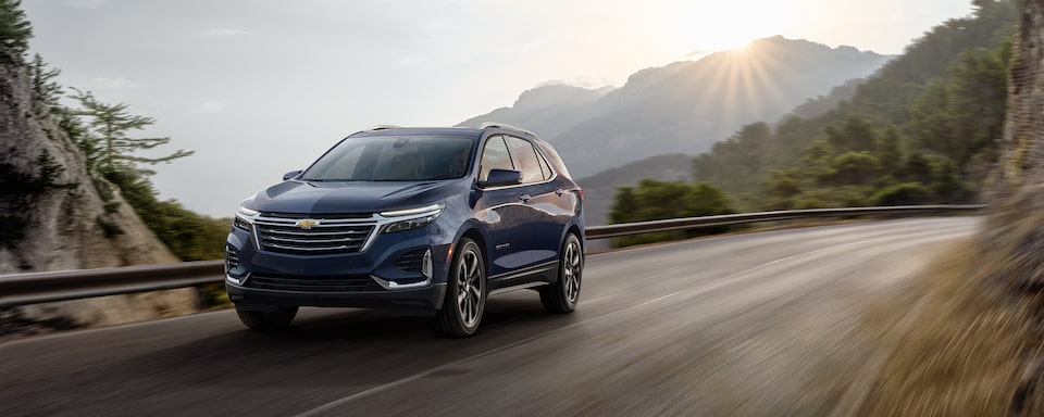 2021 Equinox Driving On The Road.