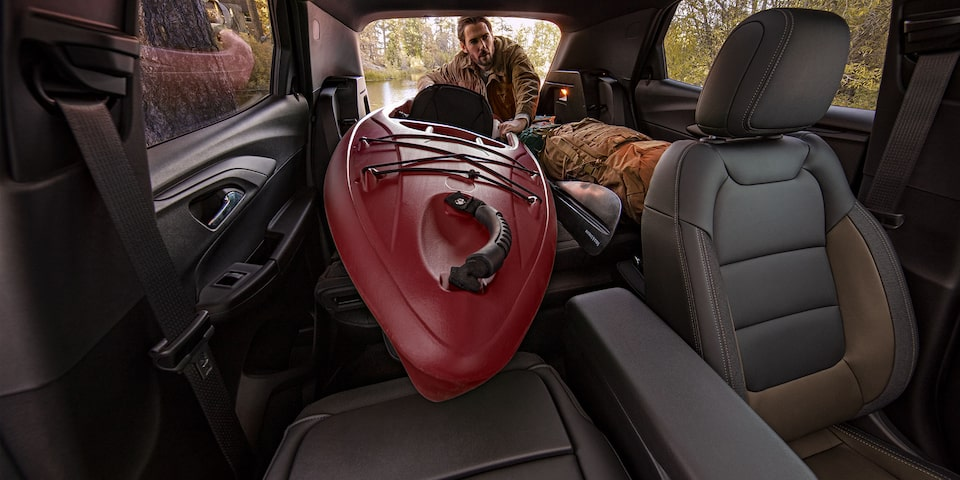 2021 Chevrolet Trailblazer Cargo Space with Seats Folded Down.