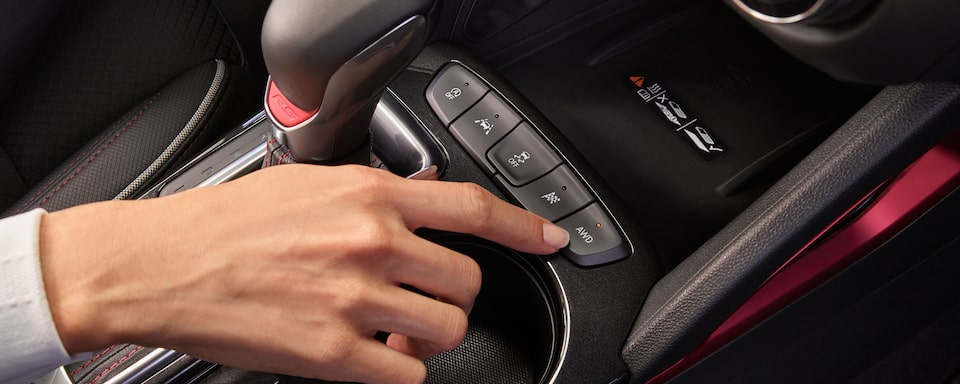 2021 Chevrolet Trailblazer Control Panel Close-Up.