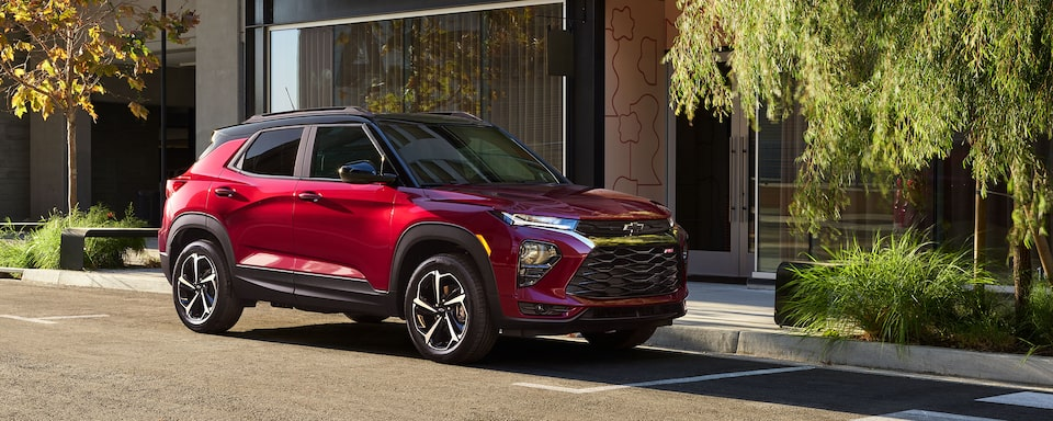 Conception d'un Chevrolet Trailblazer 2021.