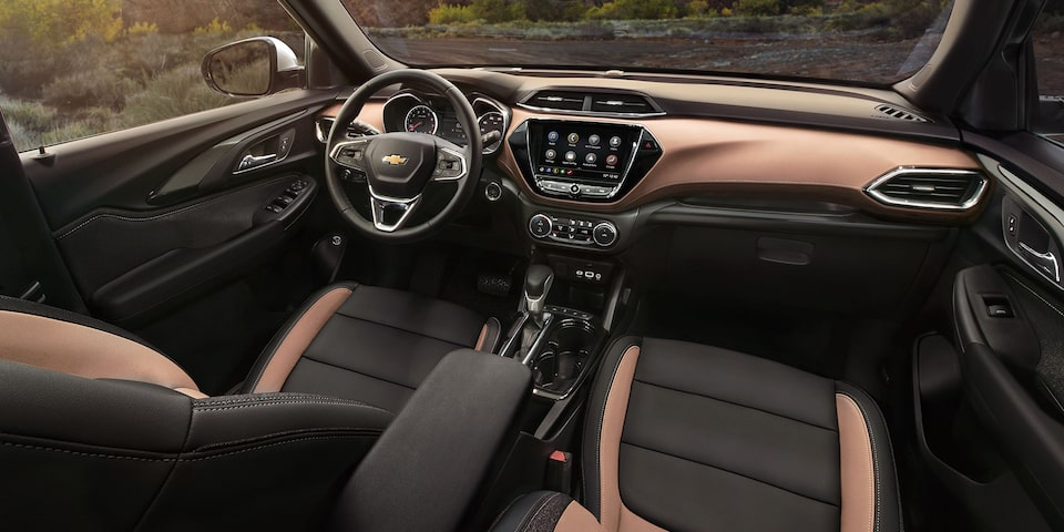 Interior view of the All-New 2021 Trailblazer