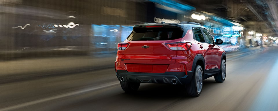 Rear view of the All-New 2021 Trailblazer RS