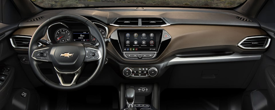 Technology features of the 2021 Chevrolet Trailblazer.
