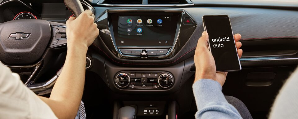 2021 Chevrolet Trailblazer Android Auto & Infotainment System.