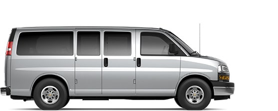 2020 Chevrolet Express Passenger Commercial.