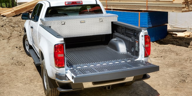 The 2019 Chevrolet Colorado offers a variety of bed protection accessories.