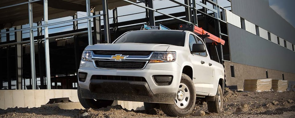 The 2019 Chevrolet Colorado Commercial work truck.