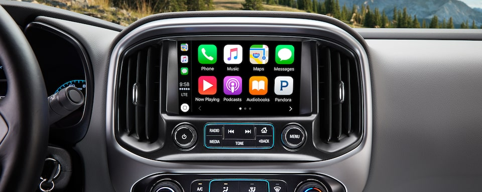 The 2019 Colorado features 4G LTE with Wi-Fi, streaming internet radio and touch screen navigation.