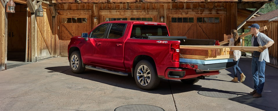 2019 Chevrolet Silverado Commercial Crew Cab Short Box RST 4x4 in Cajun Red Tintcoat.