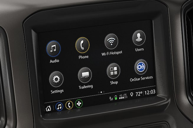 Technology features of the all-new 2019 Chevrolet Silverado Commercial.