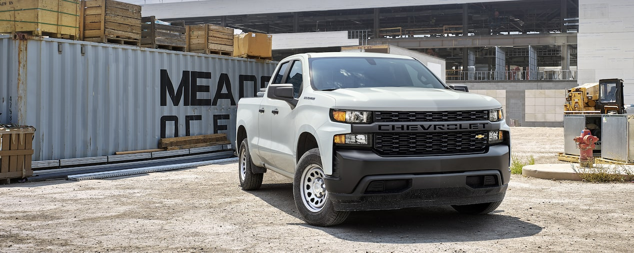 The all-new 2019 Chevrolet Silverado Commercial work truck.