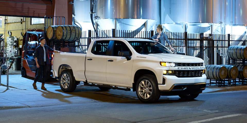 Exterior view of 2019 Chevrolet Silverado Commercial.