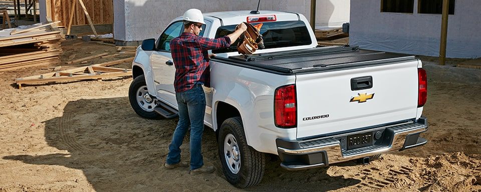 2020 Colorado Work Truck Specifications: GearOn Storage System.