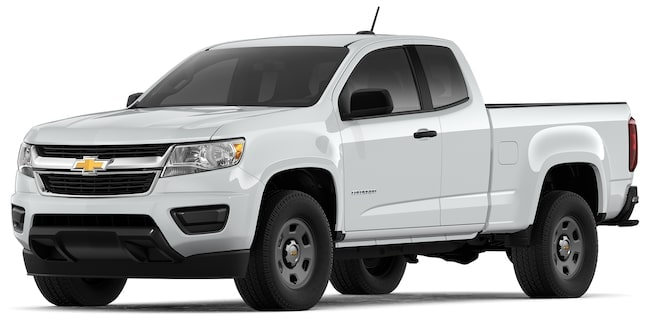 2020 Colorado Work Truck: Front View.