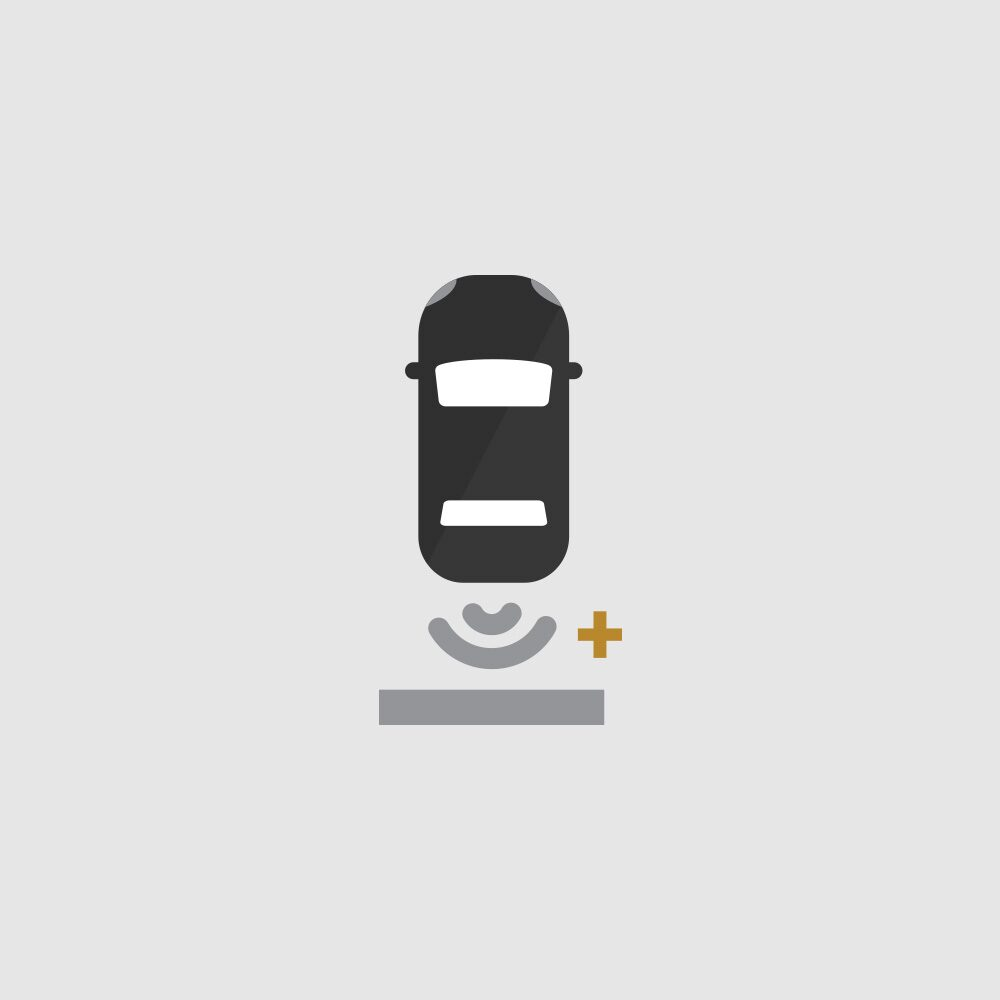Rear Park Assist Icon.