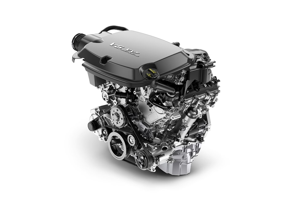 3.L DOHC V6 Engine with VVT.