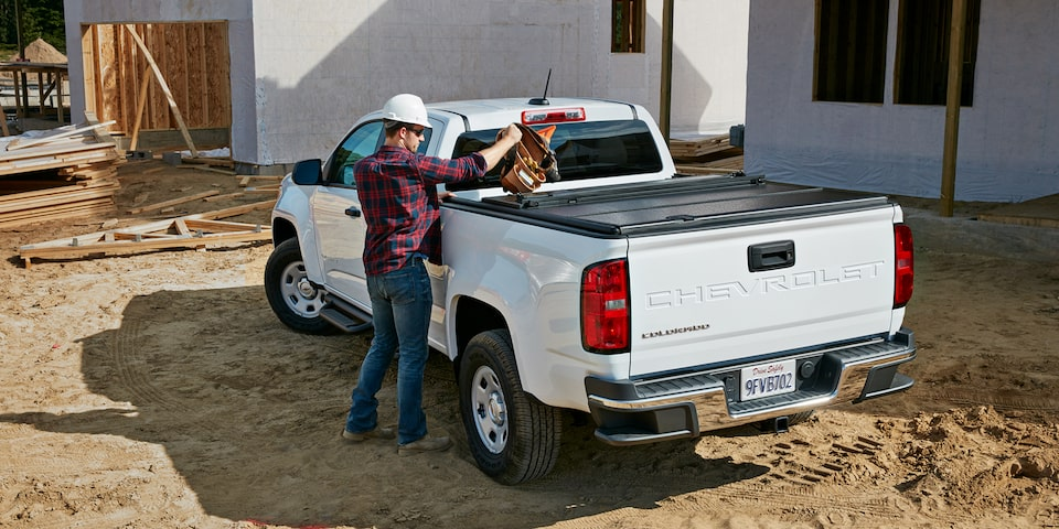 2021 Chevrolet Colorado Commercial Work Truck Exterior Rear View.