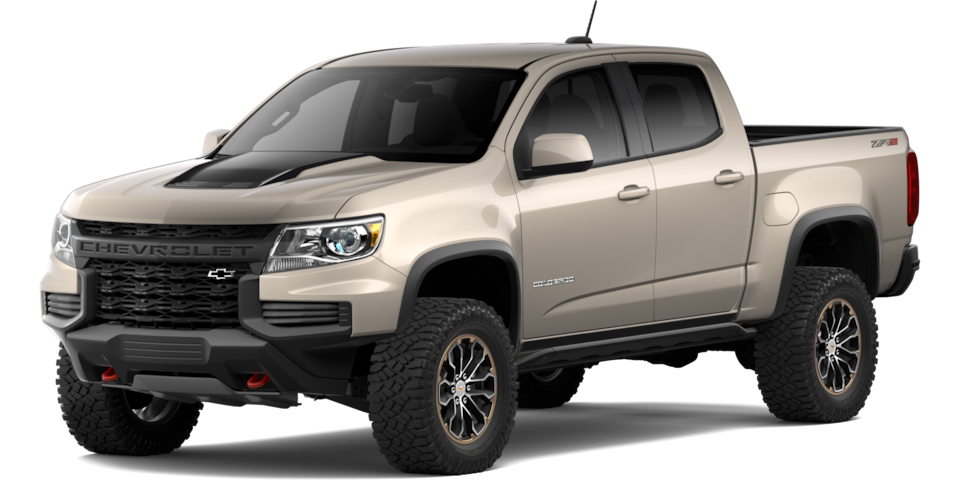 2021 Colorado ZR2 Trim.