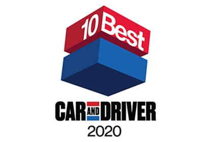 10Best véhicules  2019 selon le magazine Car and Driver