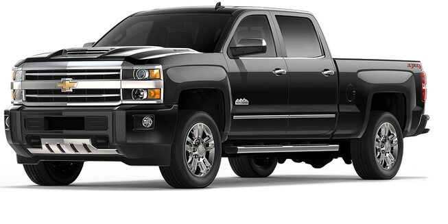 Le camion pick-up Chevrolet Silverado 2500HD 2018.