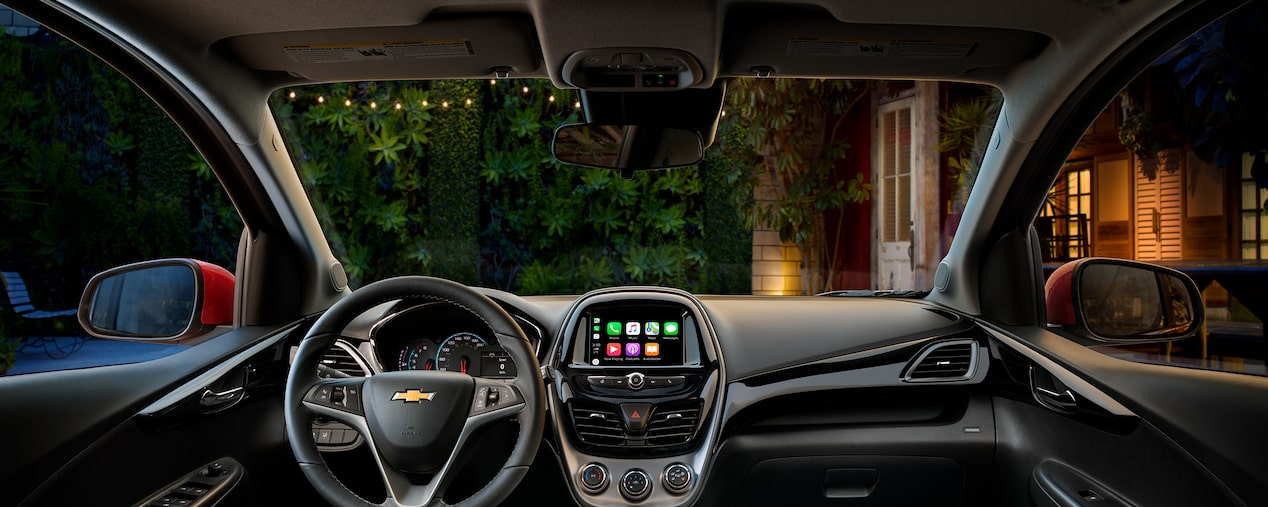 The 2019 Spark's available Chevrolet Infotainment system.