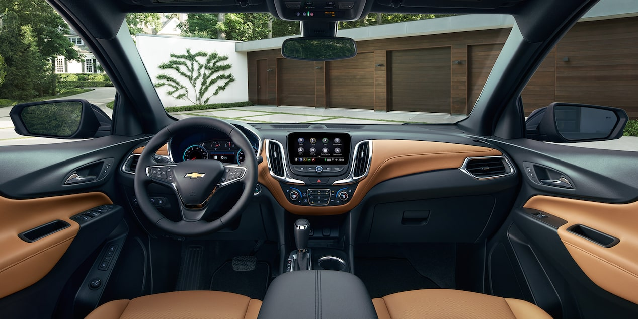 The 2019 Chevrolet Equinox offers purposeful and intuitive technology.