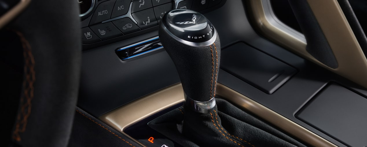 2019 Corvette ZR1 supercar: centre console