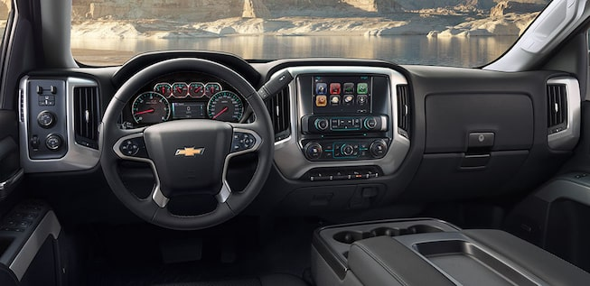 2019 Silverado 1500 Pickup Truck Interior Photo: Dashboard