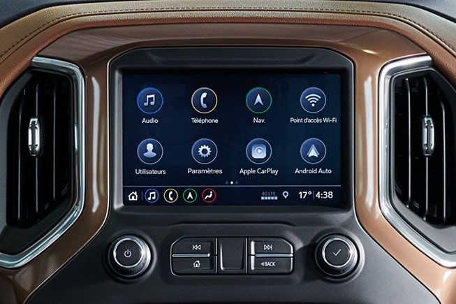 Technology features of the all-new 2019 Chevrolet Silverado.